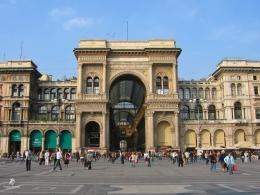 Galleria Vittorio Emanuele II- Milan. Sumber: Dokumentasi pribadi