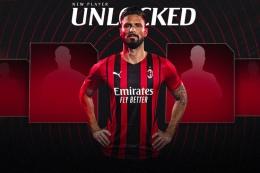 Kehadiran Pemain Berpengalaman Seperti Olivier Giroud Membuat AC Milan Semakin Menakutkan - Sumber : bola.kompas.com