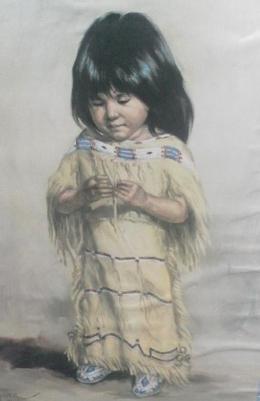 Lukisan yang dijual 5 dolar saja (dok pribadi)