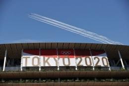 Olimpiade Tokyo 2020 siap untuk dibuka pada Jumat (23/7/21) dengan nuansa yang berbeda (Foto REUTERS)