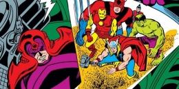 Scarlet Centurion saat melawan para Avengers di komik. Sumber : Screenrant