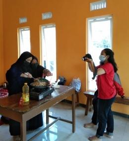 Proses pengambilan video tutorial memasak jiaozi/Foto: Dok. Pribadi