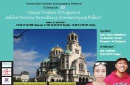 Sabtu ini kita ke Bulgaria (Dokumentasi: Koteka)