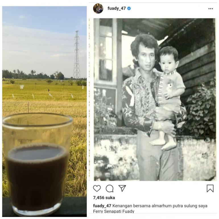 foto kiri dokpri, foto kanan instagram Anwar Fuady