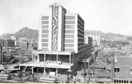 Wujud Cheonggye Sewoon Plaza Dahulu, credit to: IG @jimmythehistorian