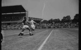 Indonesia vs Uni Soviet di Olimpiade 1956 (Tribunnews.com)