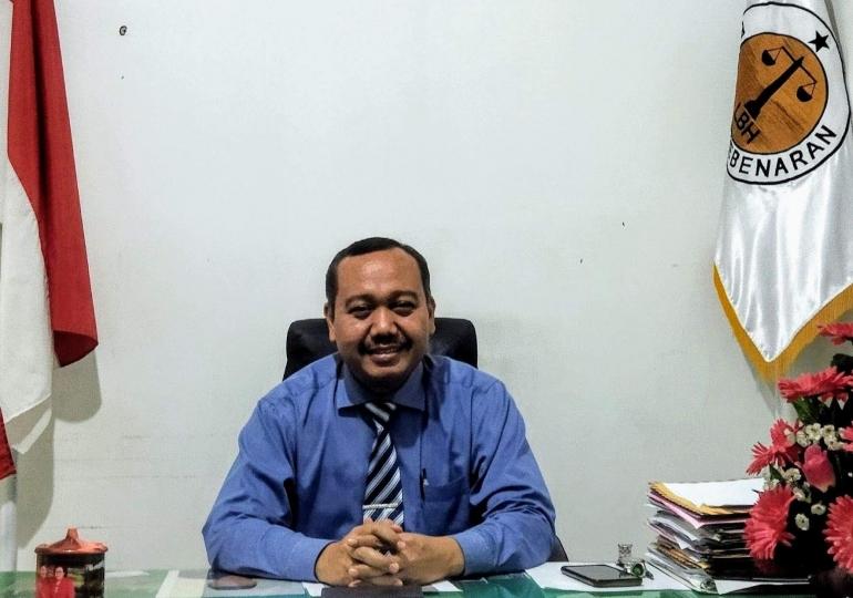 Ketua Umum Lembaga Bantuan Hukum Perisai Kebenaran (LBH-PK) Pusat H. Sugeng, SH., MSI. (dokpri)