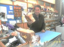 Roti  yang diberikan di Ops shop (dok pribadi)