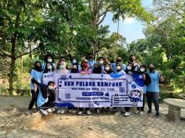 Foto Bersama di Sumber Tunge/Dokpri