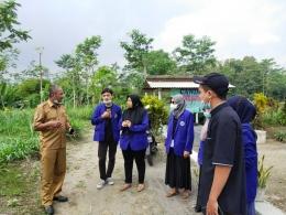 Koordinasi dengan Bapak Kepala Desa Sumberagung (Dokpri)