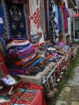 Namche Bazaar : foto dokumentasi pribadi