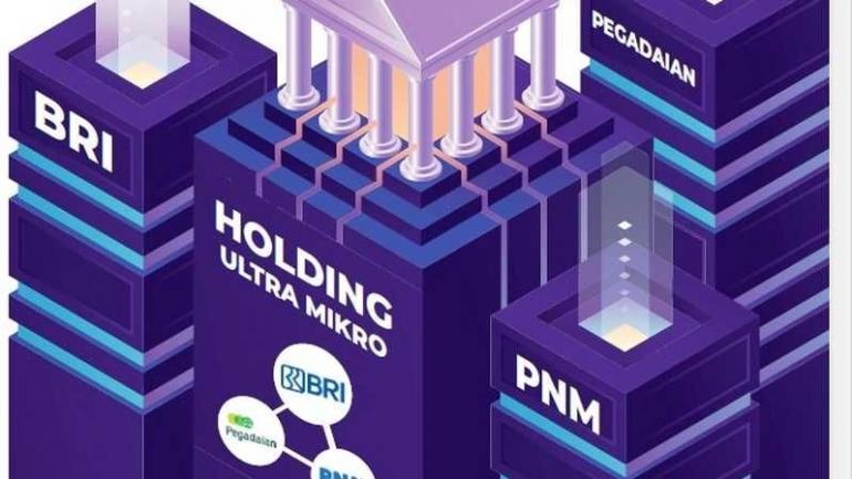 Ilustasi Holding Ultra Mikro|dok. investor.id