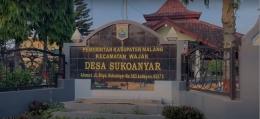 Tampak depan Balai Desa Sukoanyar Kecamatan Wajak/ Dok. Tim KKN UM
