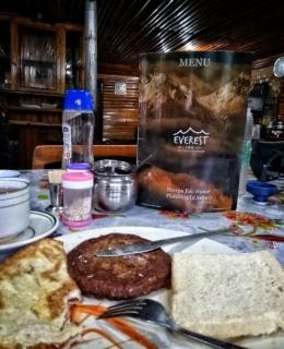 menu makan pagi : foto dokumentasi pribadi