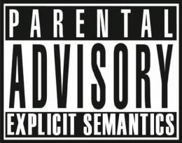 Ilustrasi label Parental Advisory. Sumber: Flickr.com/Michel Dumontiers