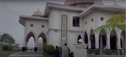 Pengambilan scene yang berada di Masjid Jami'