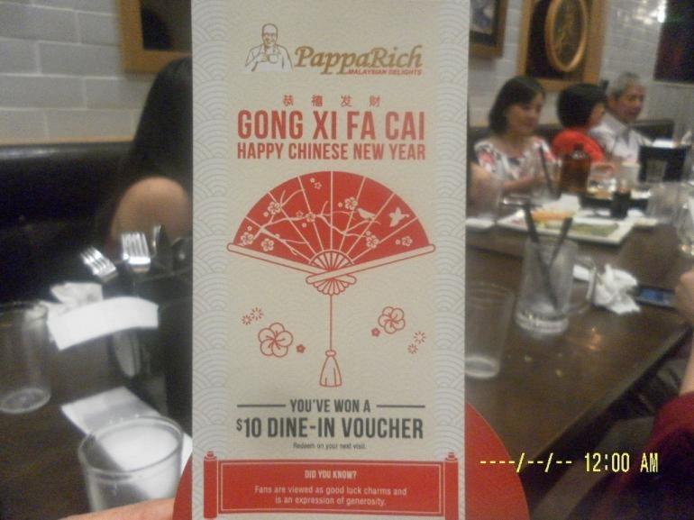 Para tamu makan direstoran Papa Rich(dok pribadi)