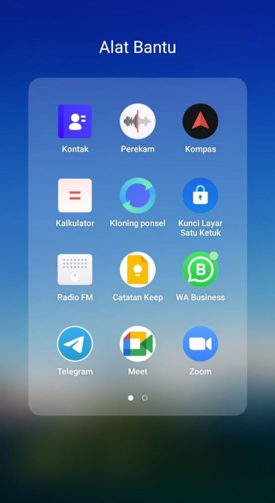 Foto screen shoot Aplikasi WhatsApp