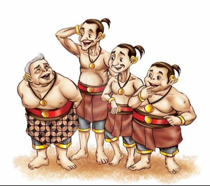 Ilustrasi: punakawan (goodnewsfromindonesia.id)