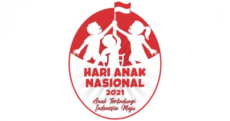 Logo Hari Anak Nasional 2021 (dok.kemenpppa.go.id)