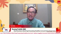 Bapak Suwata, dari Dinas Kesehatan Kab Subang (doc.pri)