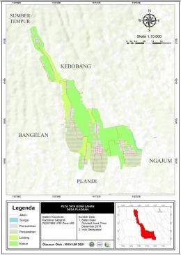Rancangan Perbaruan Peta Tata Guna Lahan Desa Plaosan (Dok. Desa Plaosan)