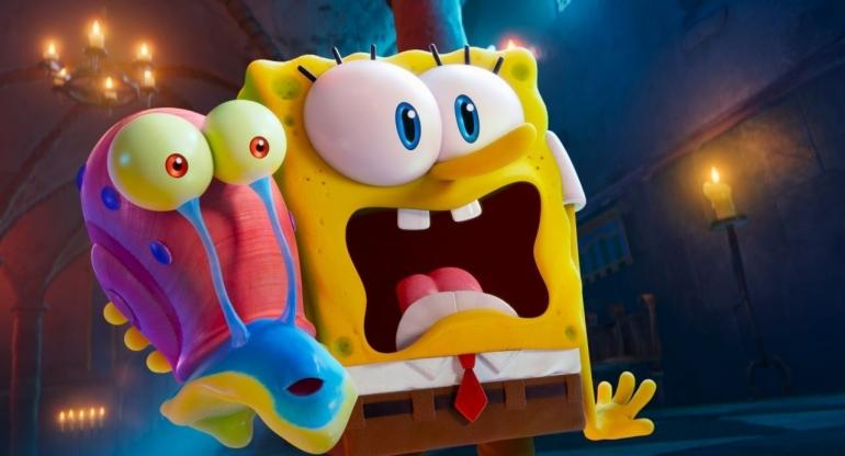 Spongebob dan Gary dalam Film Sponge on the Run, Sumber Gambar: awn.com