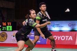 Pasangan ganda campuran Indonesia, Praveen Jordan/Melati Daeva harus tampil fokus di pertandingan pertama di Olimpiade 2020/Foto: Kompas.com