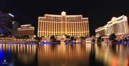 Bellagio dan hotel-hotel di sekitarnya. Sumber: dokumentasi pribadi