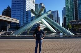 Monumen Olimpiade Musim Dingin di Coal Harbour Vancouver   Koleksi Foto Iffat Mochtar