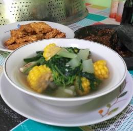 Gambar 1, Sayur Bening Bumbu Kunci (Foto: Siti Nazarotin)