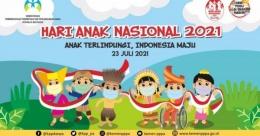 Tema Hari Anak Nasional 2021, Sumber gambar: Popmama.com