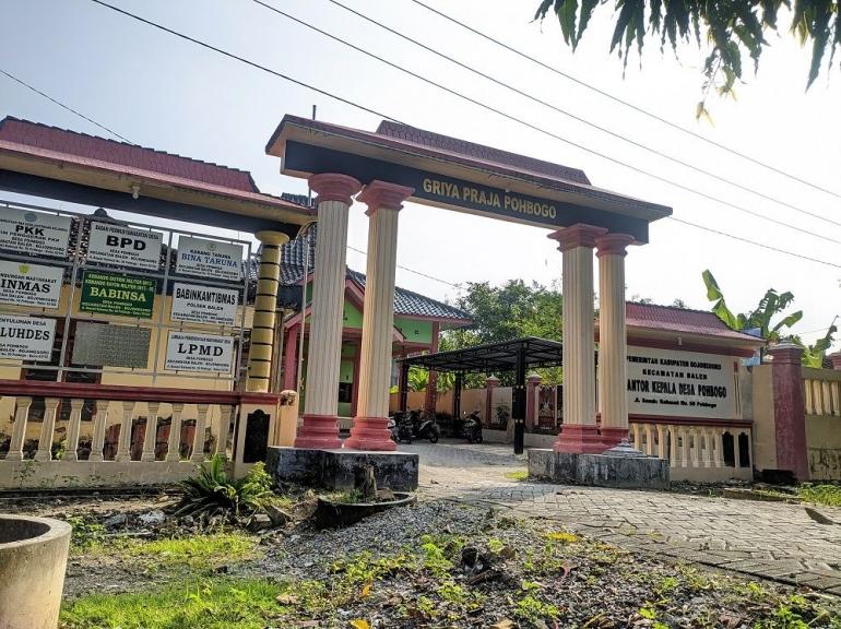 Balai Desa Pohbogo (Dokpri)