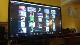 Pelaksanaan MPLS secara Daring dengan menggunakan aplikasi Zoom Meeting