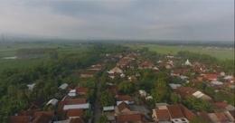 Gambar Desa Mundusewu diambil dari Atas (Drone) (Dokpri)