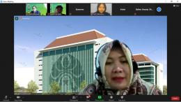 Narasumber : Ibu Dr. Heny Kusdiyanti, S.pd., M.M. dosen Manajemen Universitas Negeri Malang/Dokpri