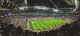 Stadium wembley tempat digelarnya Final Euro 2021 (sumber : Unsplash)