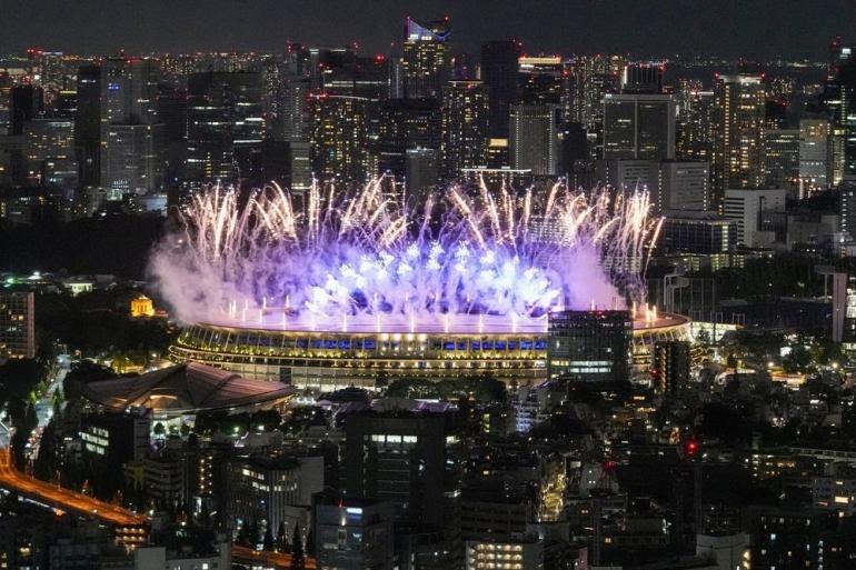 Pembukaan Olipiade Tokyo 2020, cnbcindonesia.com
