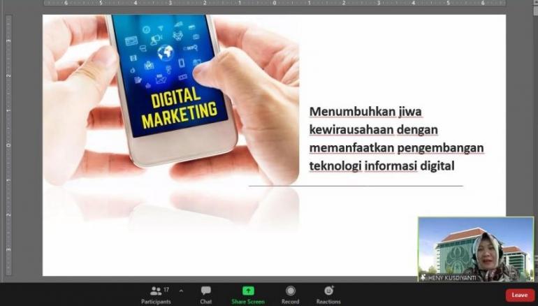 Sosialisasi Pemanfaatan Teknologi Digital Demi Menumbuhkan Jiwa Kewirausahaan Masyarakat Desa Ketawang/Dokpri