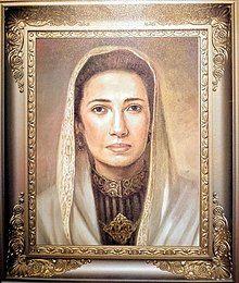 Lukisan Sultanah Nahrasiyah sumber :wikipedia