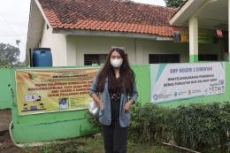 Dea Aprilia S H - SMPN 2 Cimenyan, Bandung, Jawa Barat.