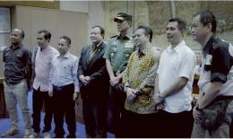 Pangdam XVI/Pattimura Mayjen TNI Doni Monardo hadir pada rapat dengar pendapat di DPR RI (2017). Dok. Pribadi
