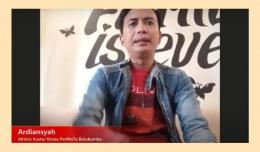 Bapak Ardiansyah, aktivis Kusta dan Ketua PerMaTa Bulukumba