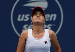 Asleigh Barty gagal. (sports.sindonews.com)