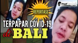 Thumbnail konten video keluarga di channel YouTube Nur Terbit saat anak terpapar Covid19 (foto Nur Terbit)