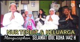 Thumbnail konten video keluarga saat Idul Adha di channel YouTube Nur Terbit (foto Nur Terbit)
