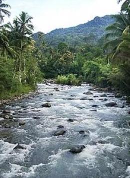 Gambar sungai mengalir