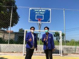 Penanggung jawab program kerja perbaikan dan renovasi fasilitas olahraga di Desa Teja Timur