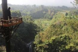 aliran sungai dan air terjun Kedung kayang sungai Pabelan mendapatkan alirannya(Kompasiana.Ign Joko Dwiatmoko)