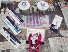 Kenang-kenangan Olimpiade Tokyo 2020 (koleksi pribadi)